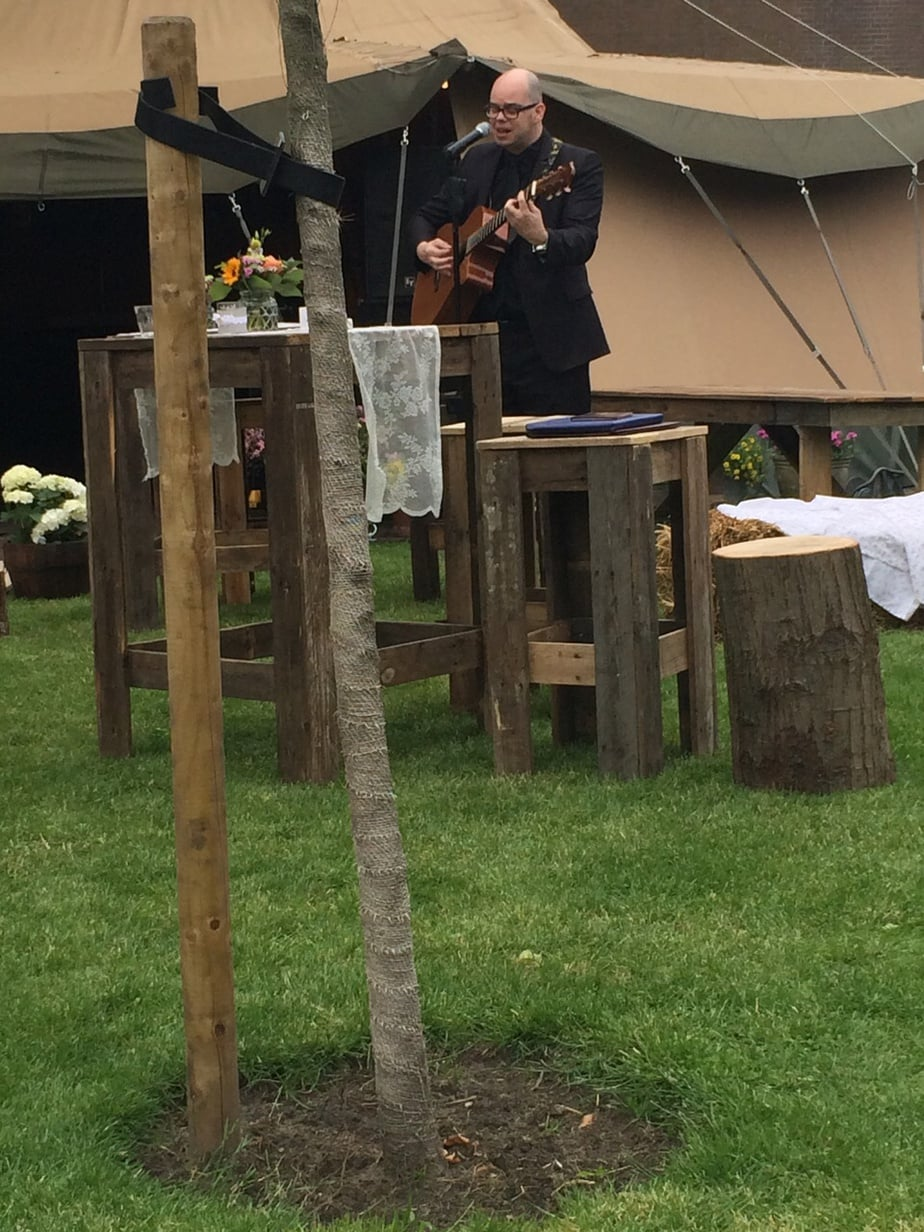 Wedding singer, ceremonie zanger